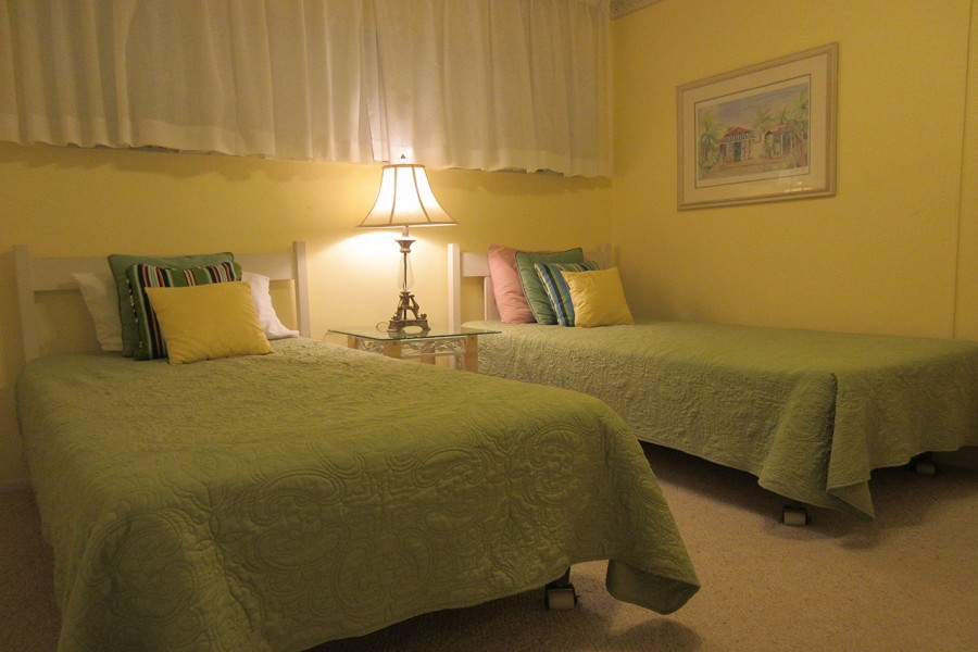 Twin Beds in Guest Bedroom