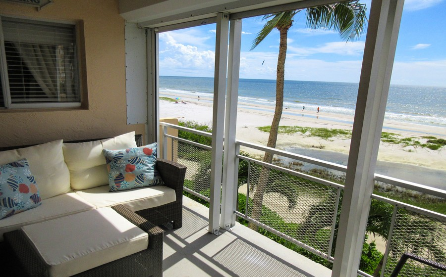 Leonard Arms 302 Fabulous Balcony Direct Gulf View