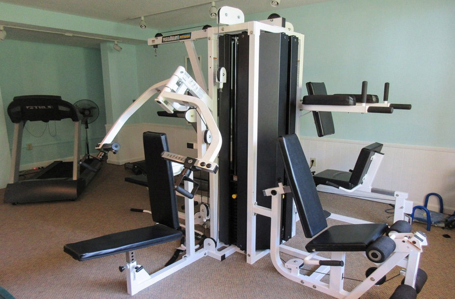 Fitness Room at Creciente North