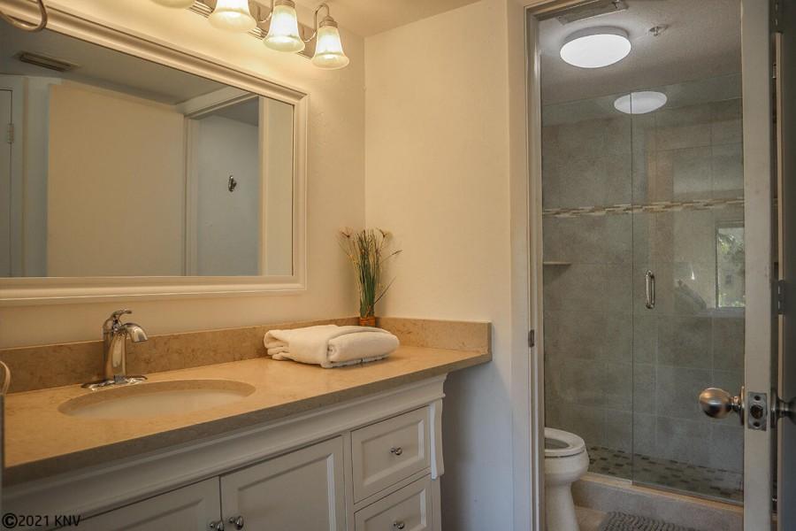 Large Vanity at the Master Bedroom En Suite