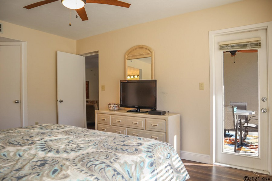Master Bedroom also has a private lanai access.