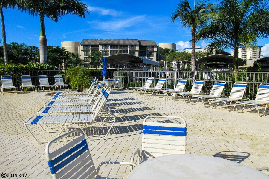 Sundeck with a lounge chair for all.  Soak up the sun!