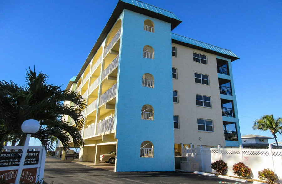 Ideally located Estero Sands On The Beach