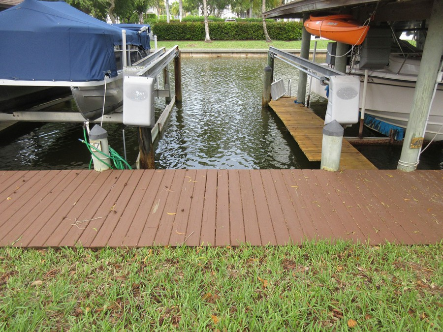 Boat Slip 47 for Guest Use located on canal directly in front of building.