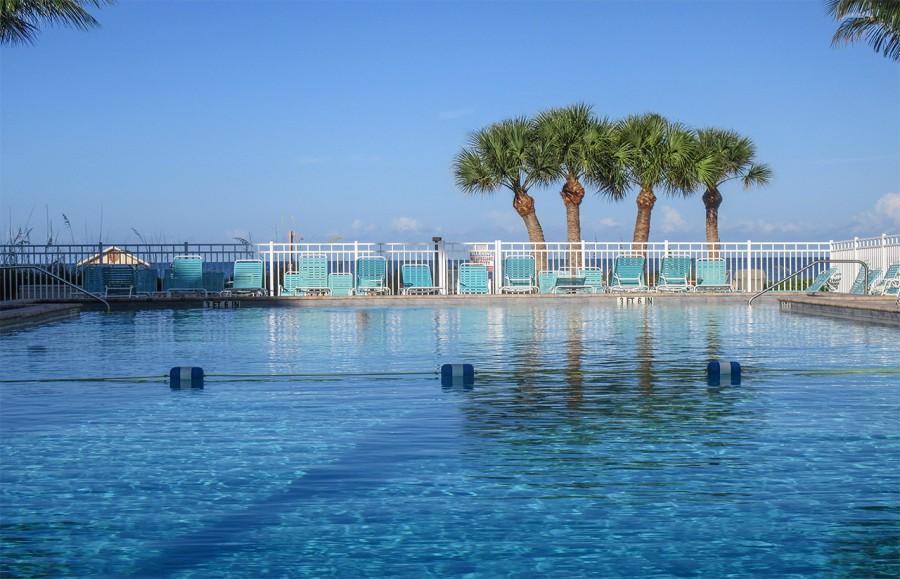 Leonardo Arms Resort Sized Heated Pool found Beachside