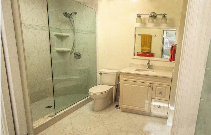 Leonardo Arms 503 Master Bath with Walk in Shower