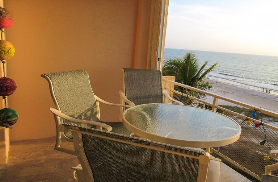 Leonardo Arms 503 Balcony with Gulf View