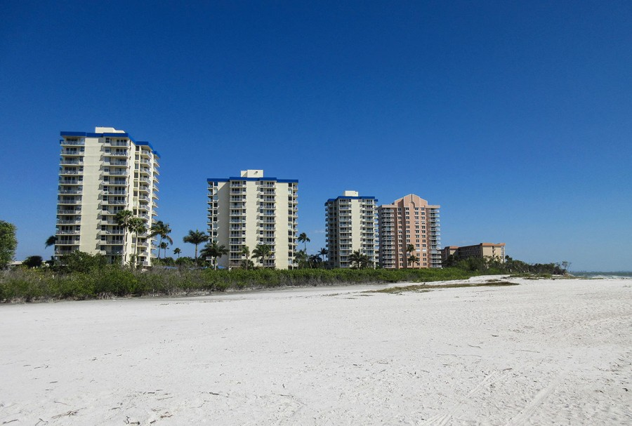 Estero Beach and Tennis Club sits on 7 miles of white sandy beach