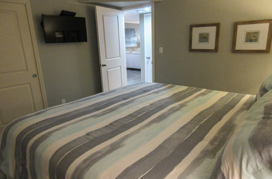 Sand Caper 108 Guest Bedroom with TV