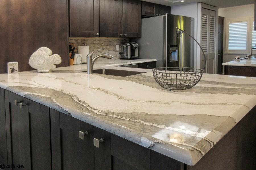 Beautiful kitchen at Riviera 406