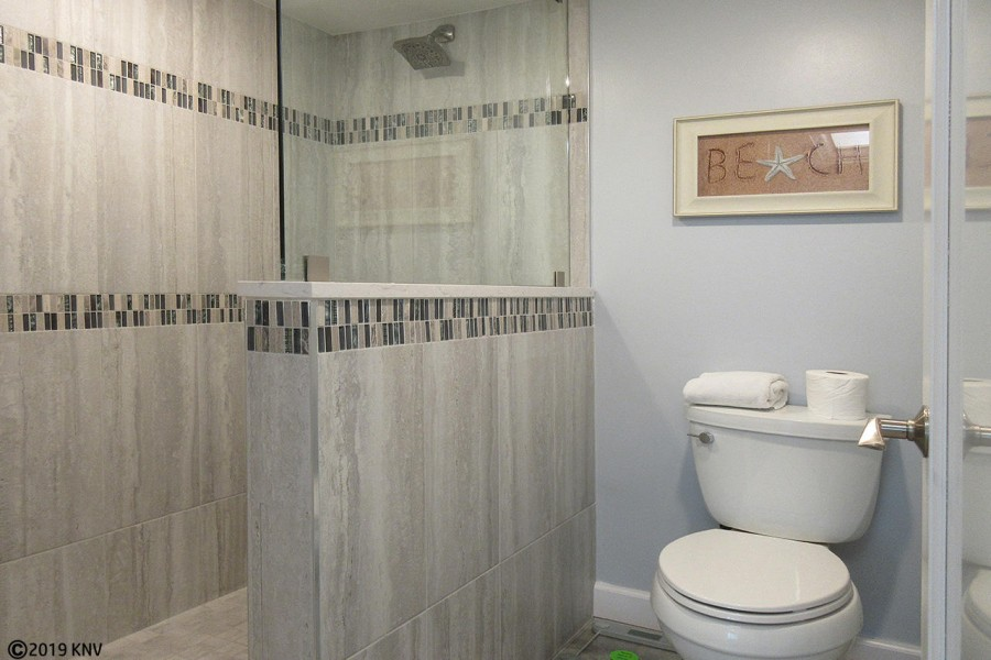 Remodeled and Fabulous! Master Bath has tiled walk in shower.