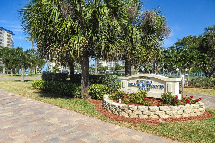 Estero Beach And Tennis Club located on the south end of Fort Myers Beach