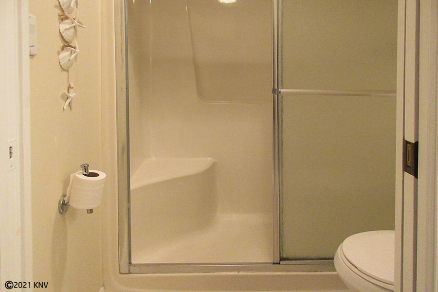 Walk In Shower in Master Bath