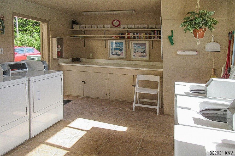 Laundry facilities at Estero Yacht And Racquet Club