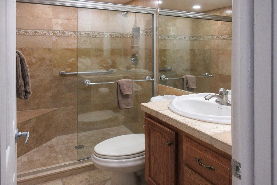 Beautiful remodeled Guest Bath right next door to Guest Bedroom