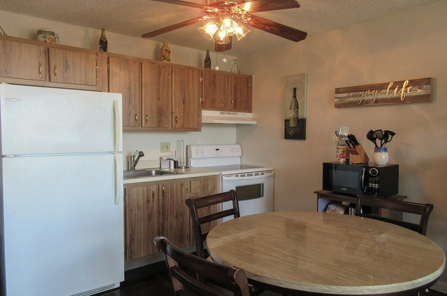 Kitchen at Estero Beach And Tennis Club 202C
