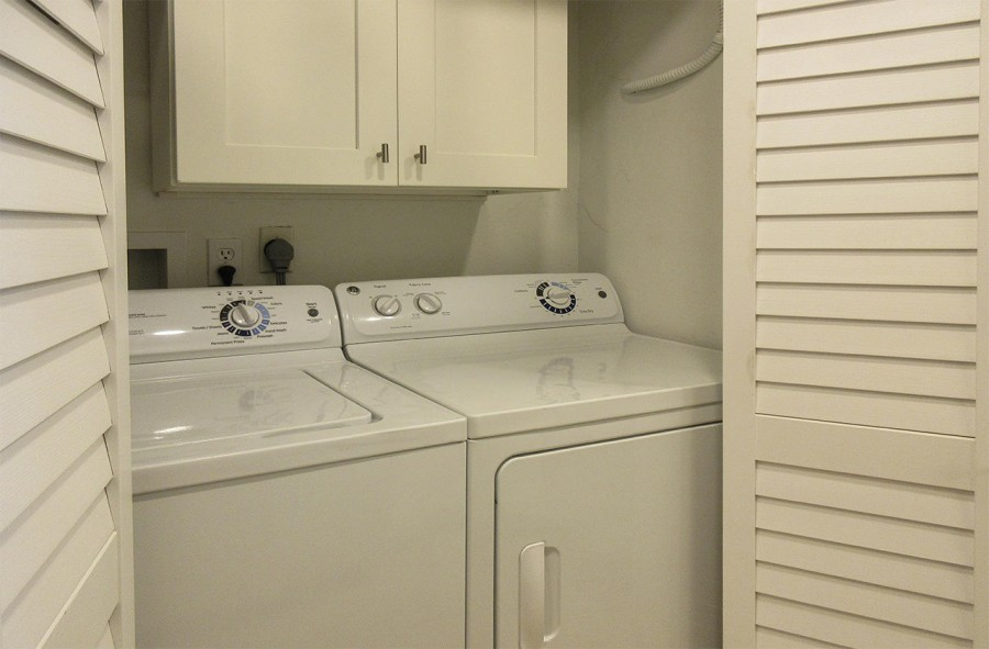 Washer Dryer in Unit