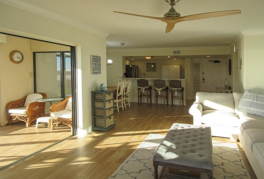 Living Area at Sandarac 107A