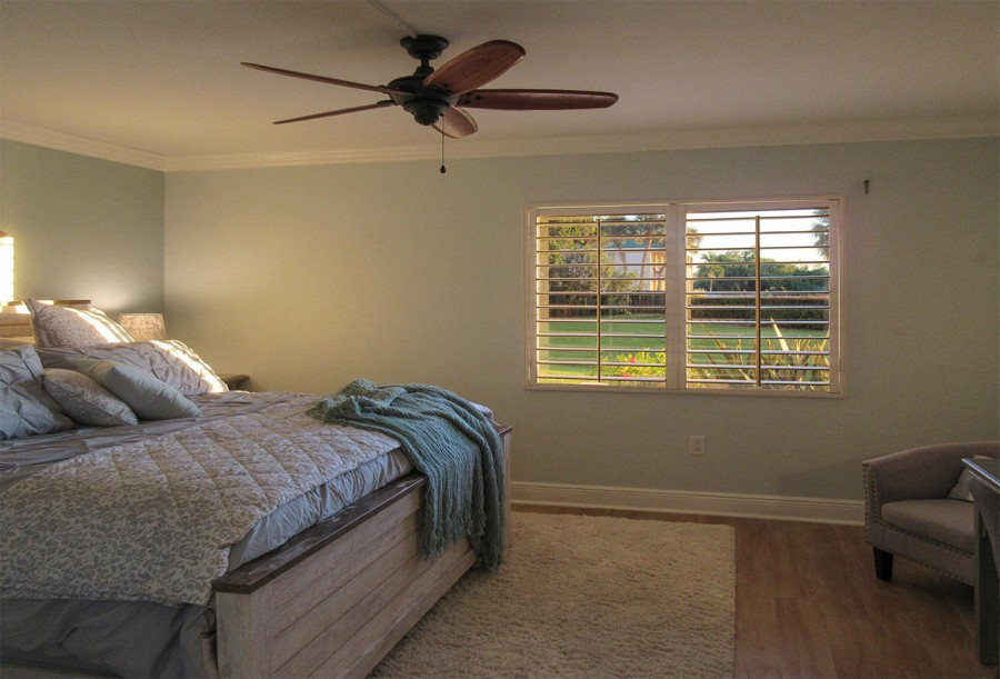 Light filled Master Bedroom