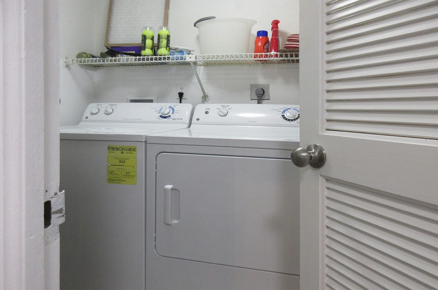In Unit Laundry with Washer Dryer