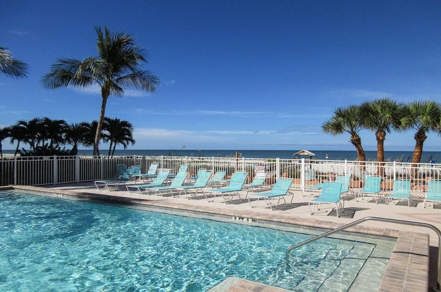 Beachfront at Leonardo Arms Resort Condominiums