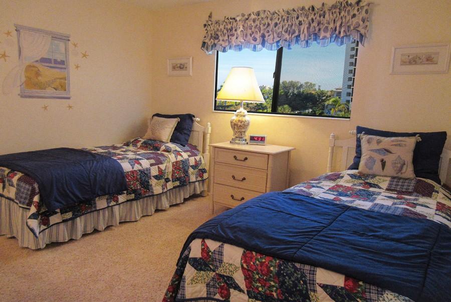 Guest Bedroom at Leonardo Arms 407