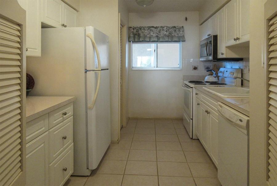 Kitchen at Leonardo Arms 407