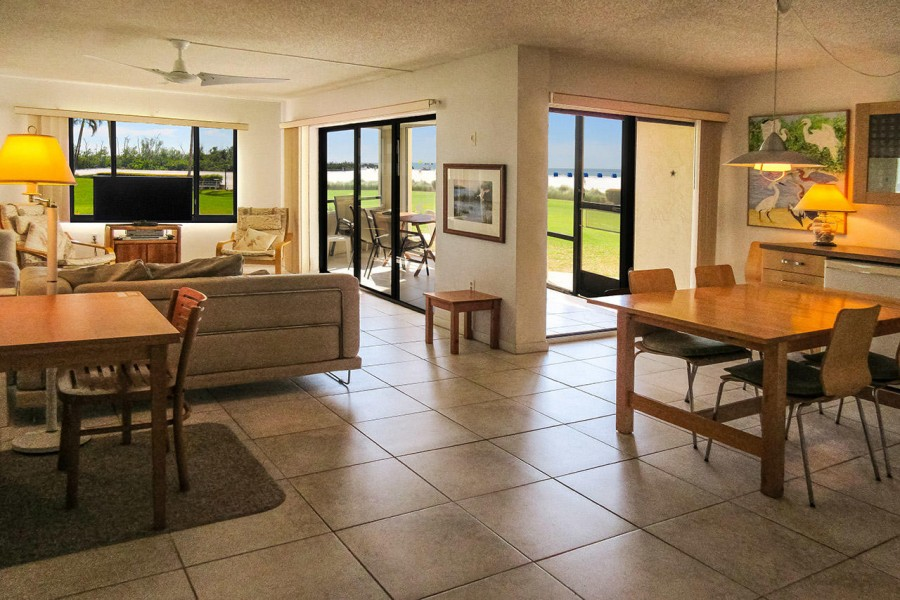 Sandarac 109B is a spacious ground floor vacation condo