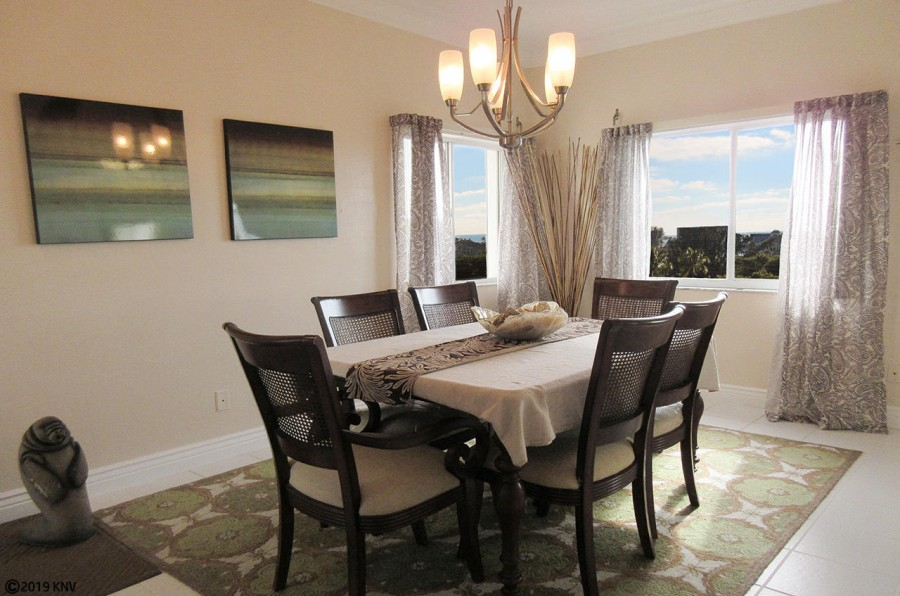 Dining Room at Casa Marina 521