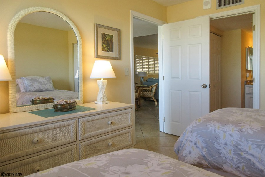 Guest Bedroom at Carlos Pointe 421
