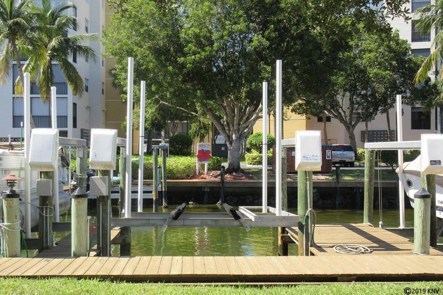 Boat Dock 56 at Casa Marina at Bay Beach Lane