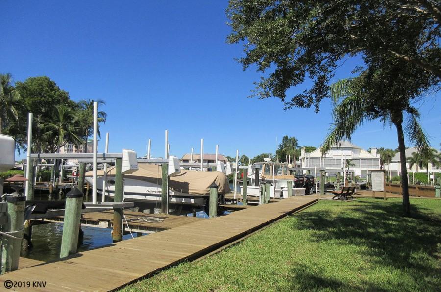 Boardwalk to Boat Dock 56 at Casa Marina