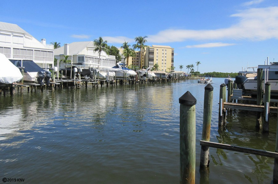 Canal leads directly to Estero Bay and minutes to the Gulf
