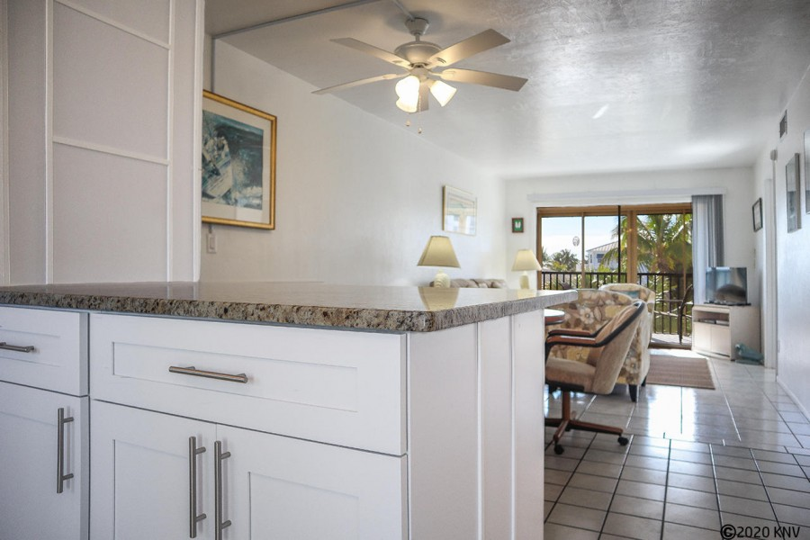 Estero Sands 202 is a light filled, open concept, air conditioned living space.