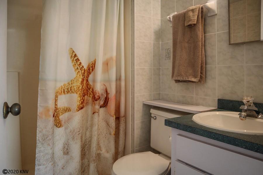 Master Bath En Suite has a walk in shower.