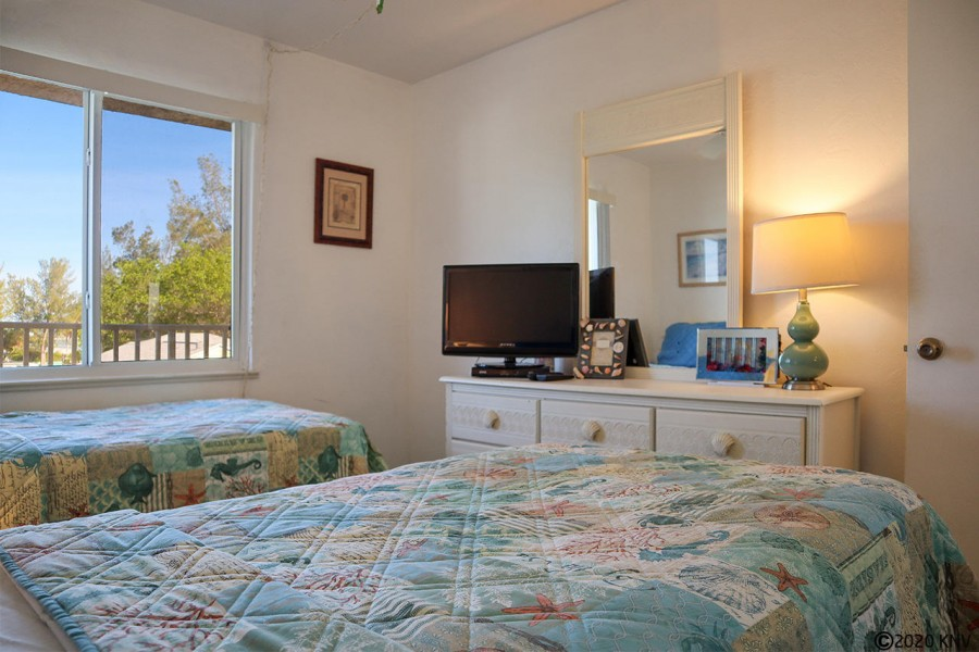 Guest Bedroom has its own TV