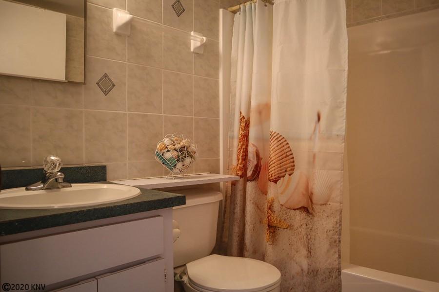 Guest Bath is right next door