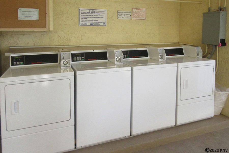 On Site Laundry at Estero Sands