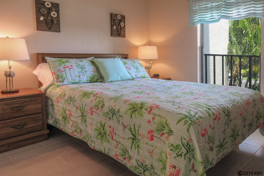 Guest Bedroom features a Queen-Sized Bed