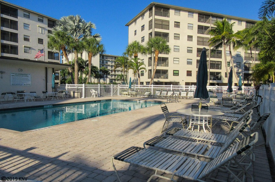 Heated Pool and Sundeck at Estero Cove