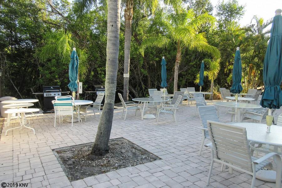 Picnic and BBQ Area at Estero Cove