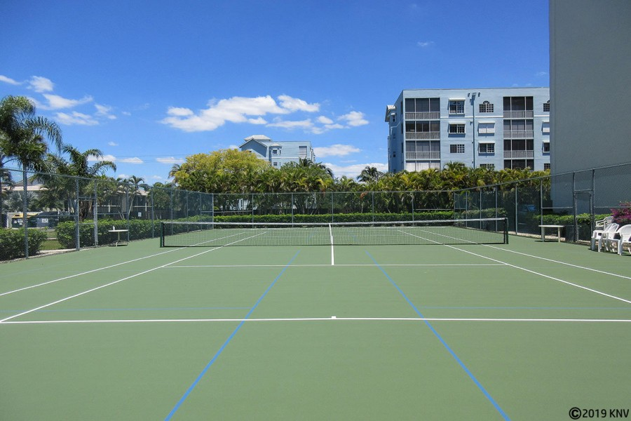 Tennis Court at Estero Cove