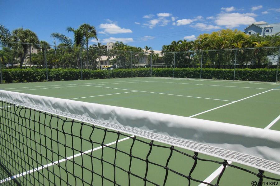 Tennis Courts at Estero Cove