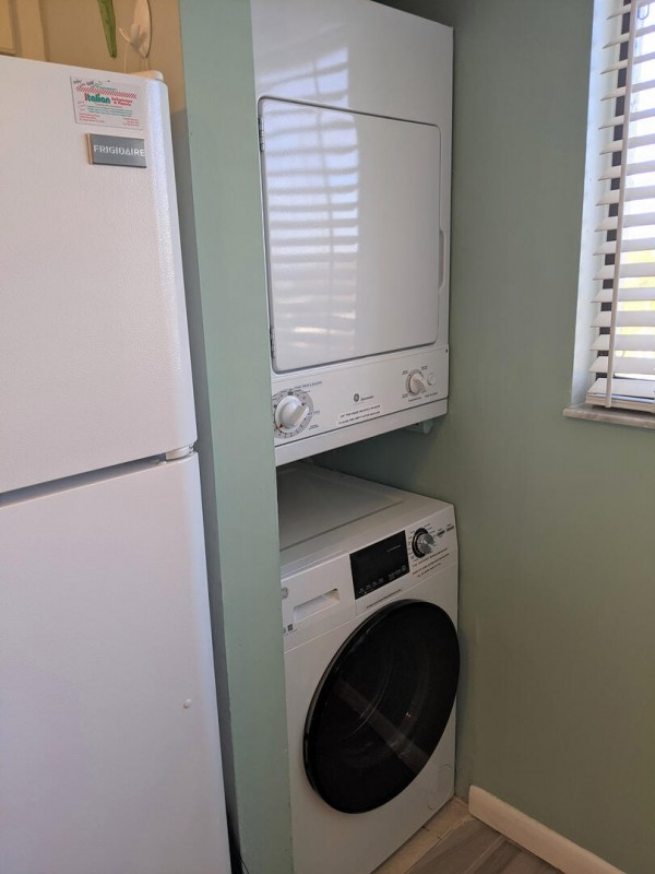 New washer and dryer in 2020.