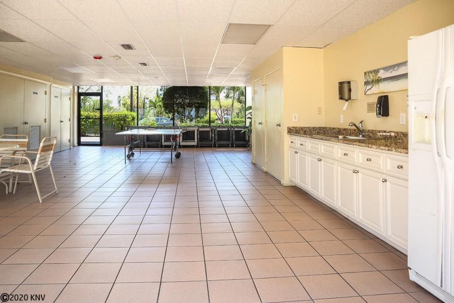 Social Room with Indoor Kitchen