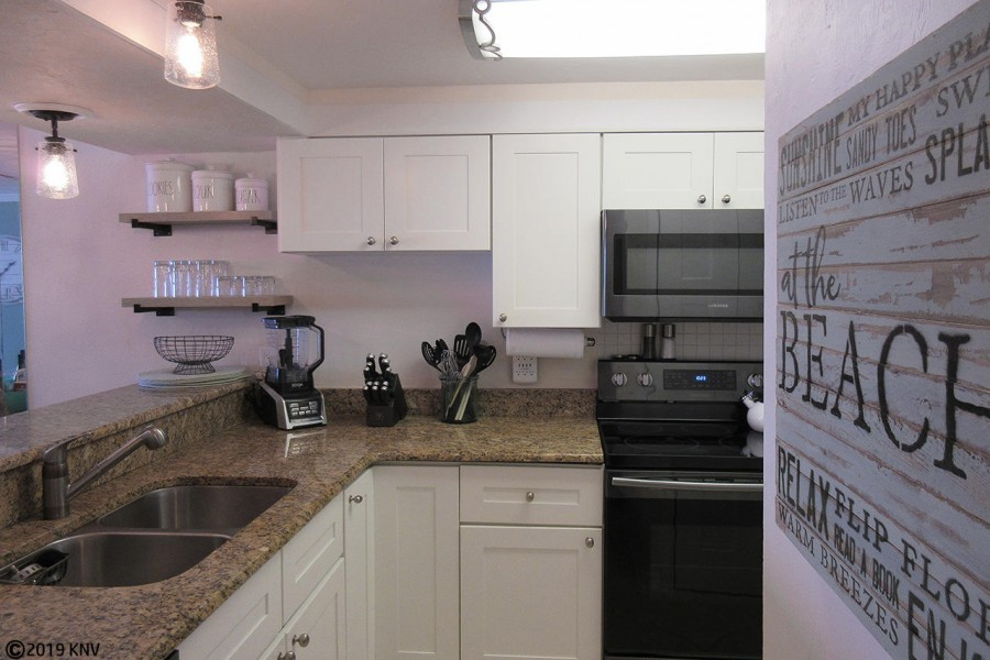 Equipped with all new appliances, cookware, prep tools, tableware and plenty of wine glasses, the ki