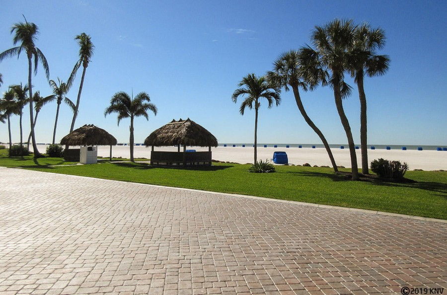 Enjoy our beautiful beachfront - 7 miles of white sand turquoise Gulf waters.