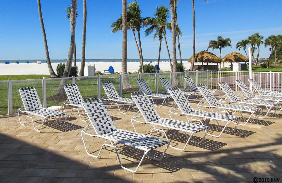 Soak up the sunshine...your lounge chair awaits you at Sunset Resort Condominiums
