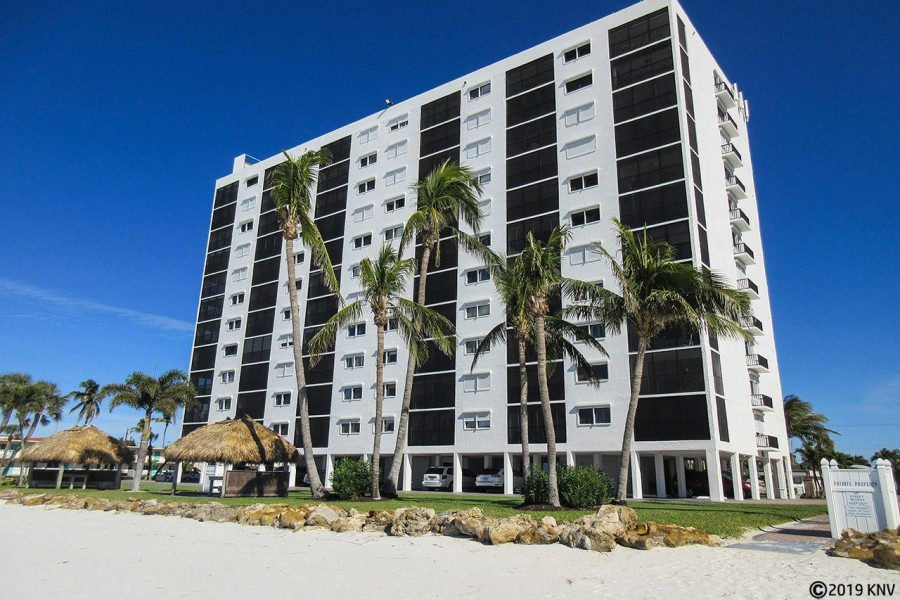 Sunset Beachfront Resort Condominiums on Fort Myers Beach