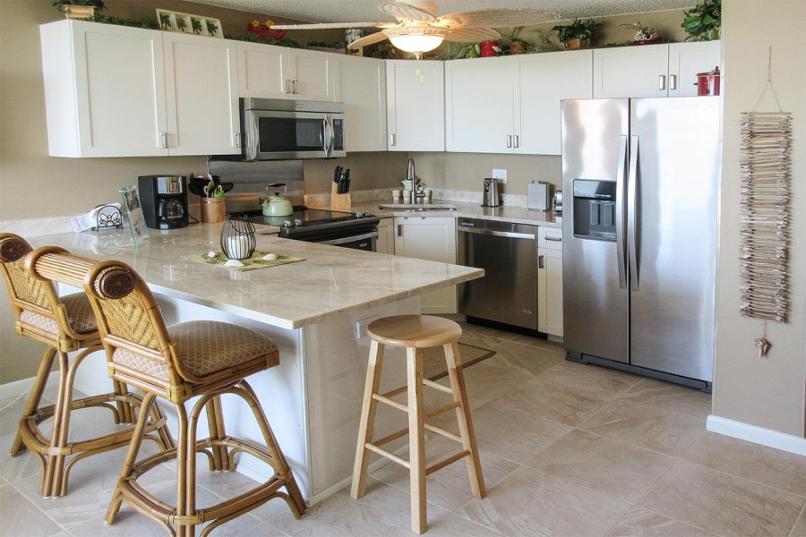 Gorgeous Kitchen at Estero Beach And Tennis Club 303B